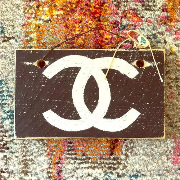 a47ccfba Brandy Melville Accessories | Chanel Door Sign | Poshmark